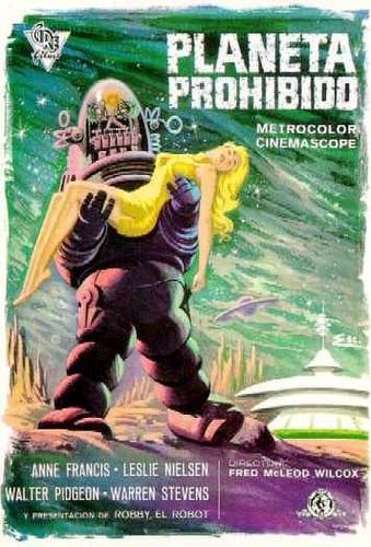 Poster de Planeta Prohibido