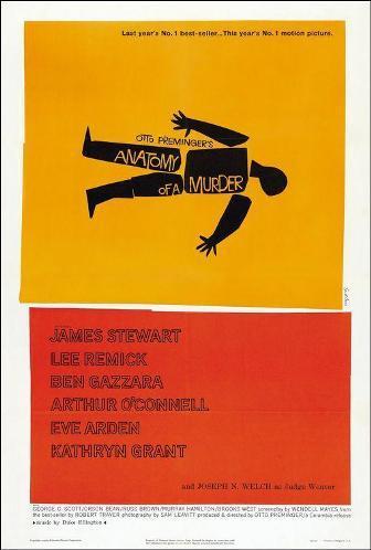 Poster de anatomia de un asesinato