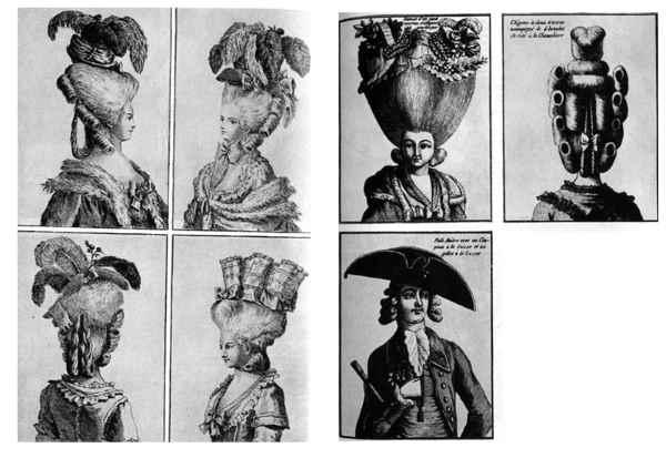 Peinados de Maria Antonieta