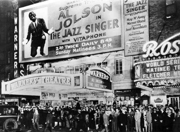 Cantante Jazz Historia del cine