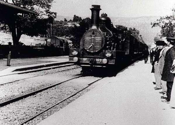 Llegada del tren Historia del Cine