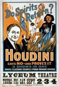 Cartel de Houdini