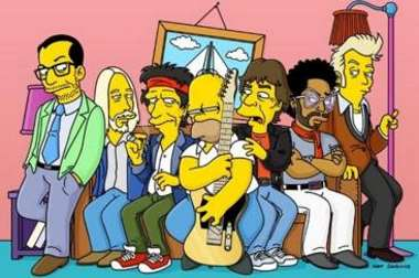 Cameos en Los Simpsons