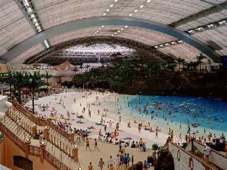 Ma mayor playa artificial del mundo