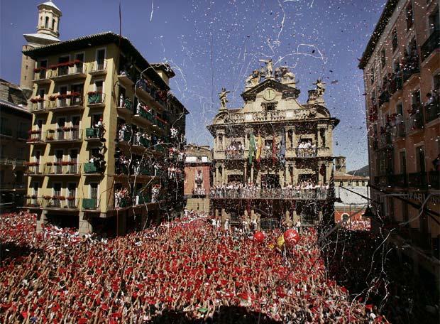 Las Fiestas de San Fermin en Pamplona