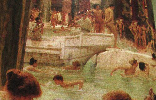 Los Baños Romano La Hedionda:Baños romanos