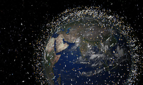 Basura espacial, peligro al viajar al espacio