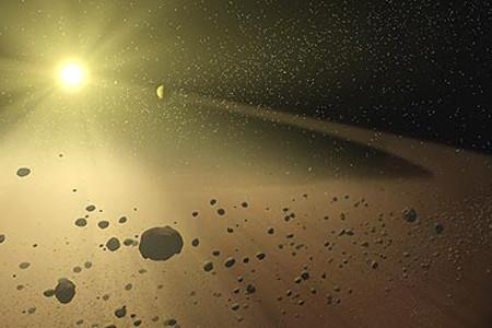 El cinturon de asteroides, buscando su origen
