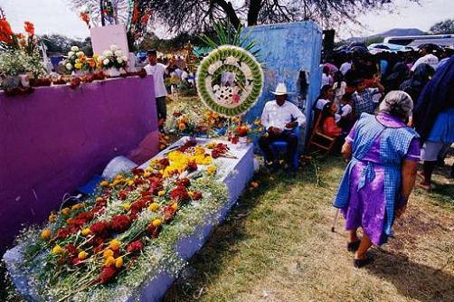 La celebración del Día los Muertos en México