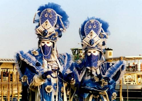 Máscara en el Carnaval de Venecia