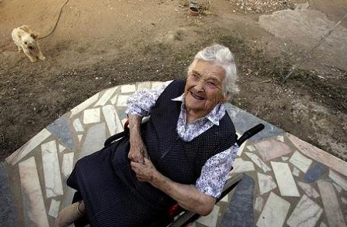 la mujer más vieja del mundo