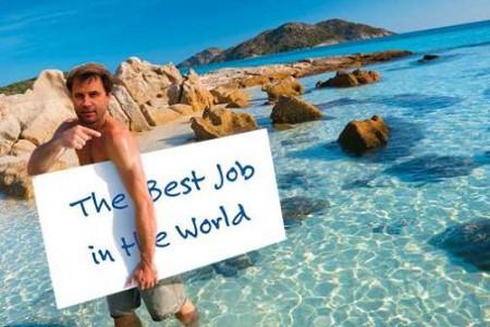 El mejor trabajo del mundo, curiosa oferta