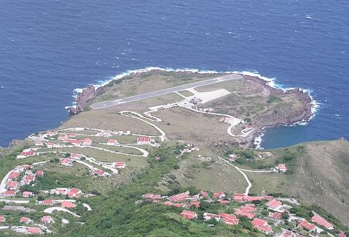 Juancho Yrausquin en Saba