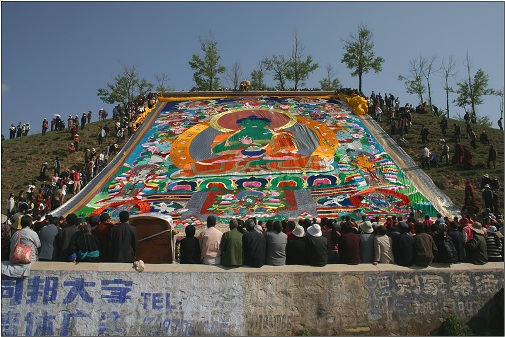 fiesta budista