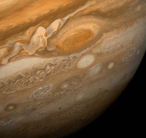 Gran Mancha Roja en Jupiter