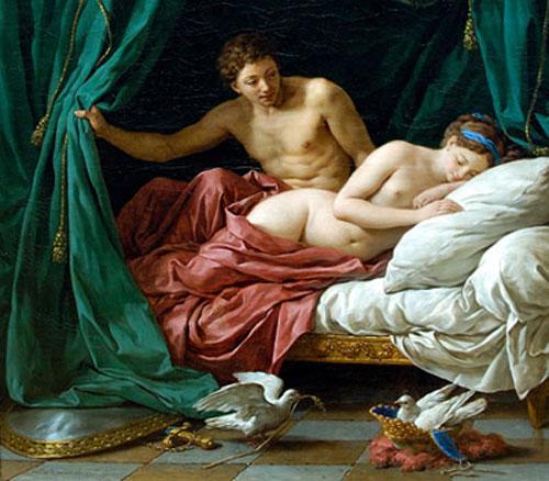 Sensualidad en el arte