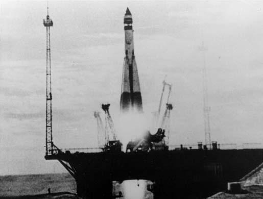 Lanzamiento del Sputnik I