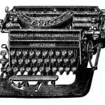 El origen de las máquinas de escribir, curiosidades