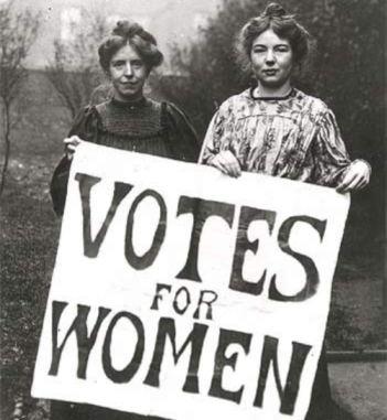 Derecho de la mujer al voto