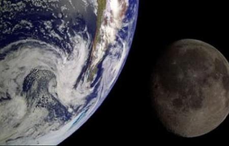 Teorías sobre origen de la Luna