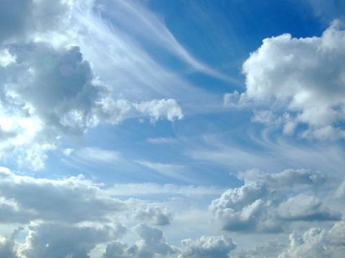 a qu se debe el color azul del cielo
