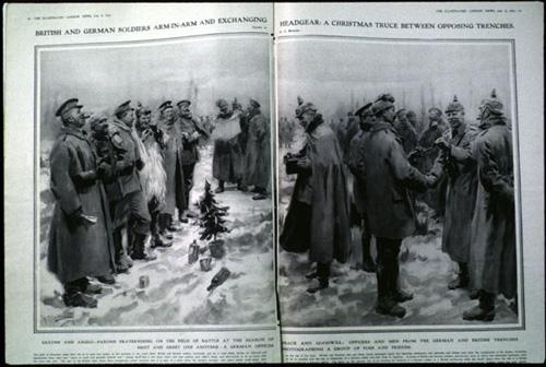 Tregua de Navidad de 1914