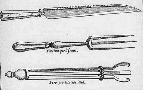 El origen de los utensilios para comer for Utensilios de cocina antiguos con nombres