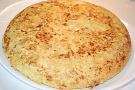 El origen de la tortilla española