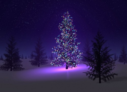 origen del arbol de navidad