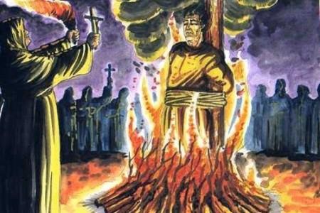 ¿Cómo enterraban a brujas y vampiros?