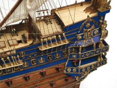 El Soleil Royal, majestuoso buque de guerra