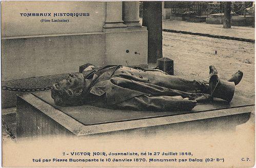 Tumba histórica de Victor Noir