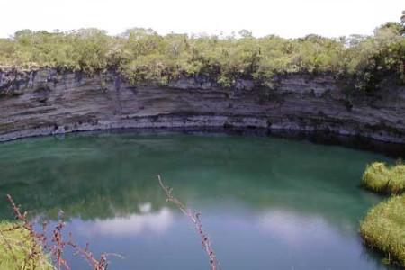 La poza del Zacatón, el cenote más hondo del mundo