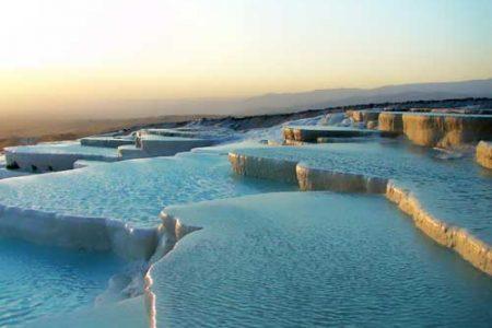 Las piscinas naturales de Pamukkale