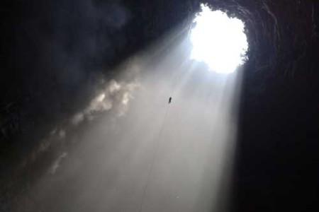 El cavernoso Sótano de las Golondrinas, en San Luis Potosí