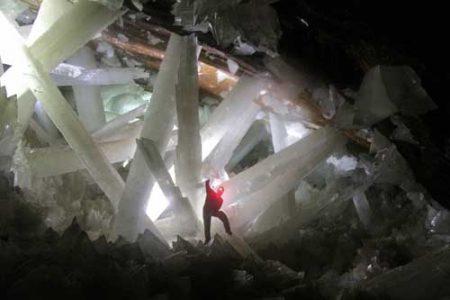 La prodigiosa cueva de Naica