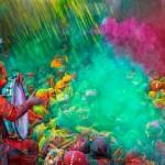 El colorido festival de Holi