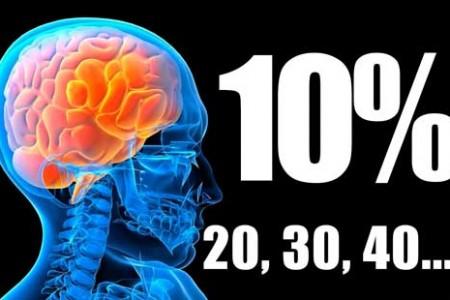 El mito del 10% en el uso del cerebro